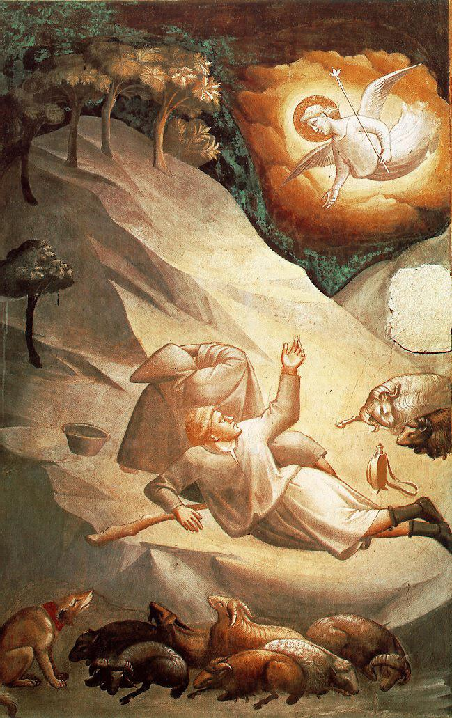 The angelic announcement to the shephersd, Gaddi Taddeo