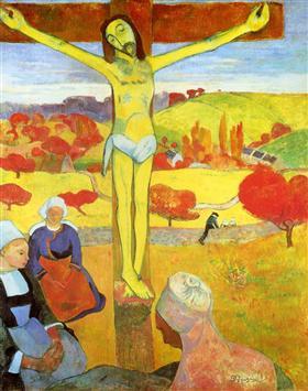 Yellow Christ, Paul Gaughin