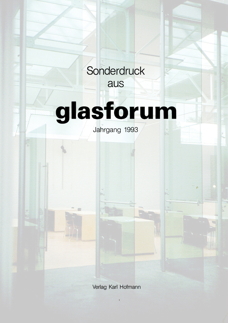 Glasforum    Museum de Pont   1993