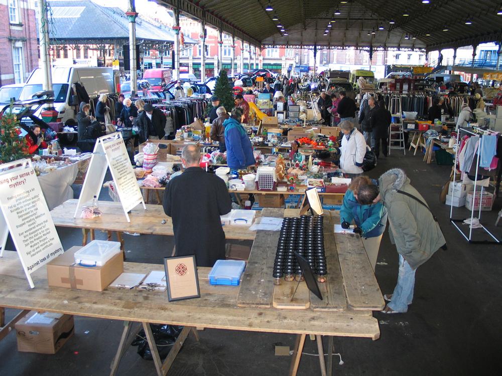 8  Market Mystery 'Insurance stall.JPG