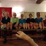 Kathleen participated in Naomi's Dare on the Camino: Free foot massages for pilgrim's - a happy outcome all round.