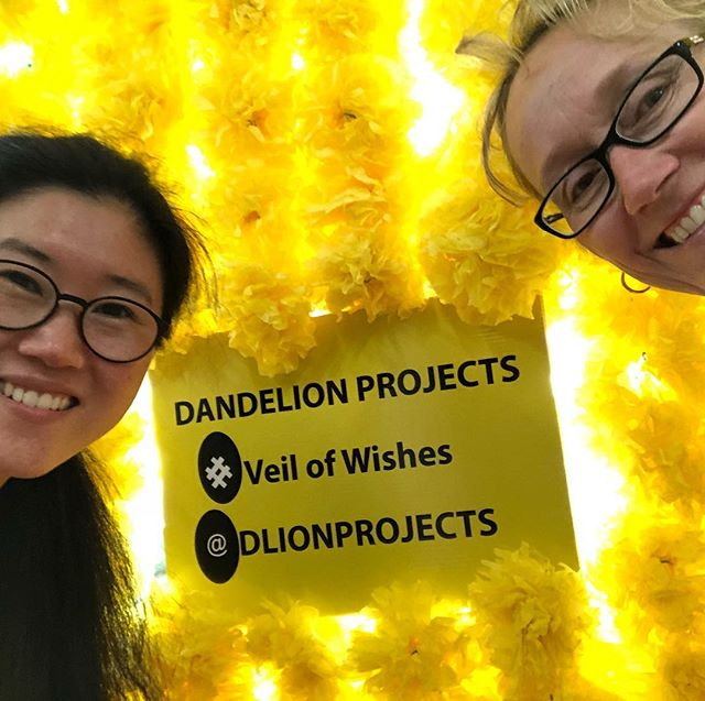 Looking beautiful - have an Instagram moment with our #veilofwishes artwork at #maxwebberlibrary #blacktowncitylibraries #blacktownartscentre