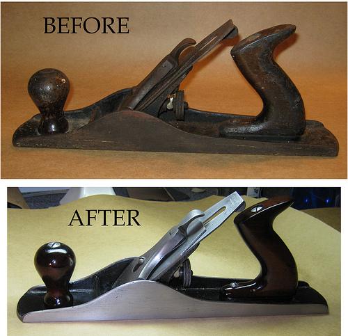 Restoring a hand plane
