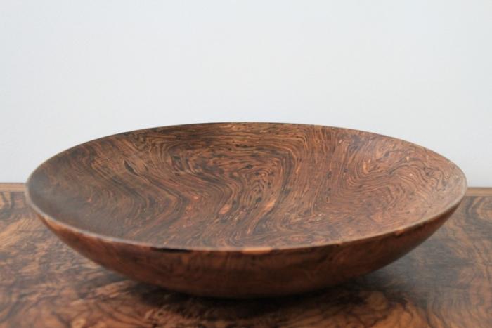 Mango Burr wide bowl