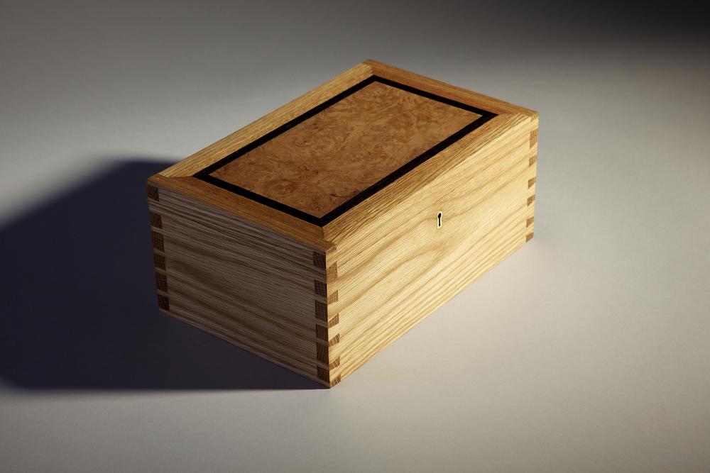 Oak Jewellery Box