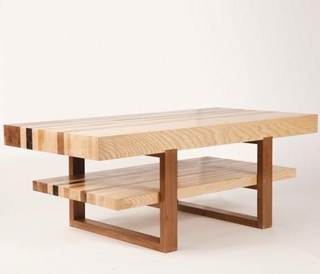 Velodrome coffee table