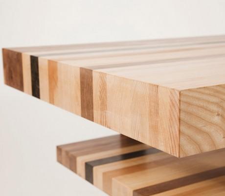 Side detail of Velodrome Table
