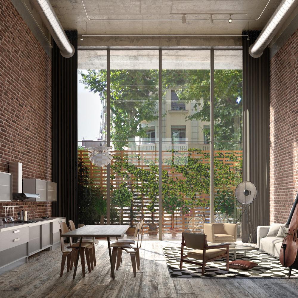 Cacaolat Residences |  b720 Arquitectos  | Barcelona, Spain