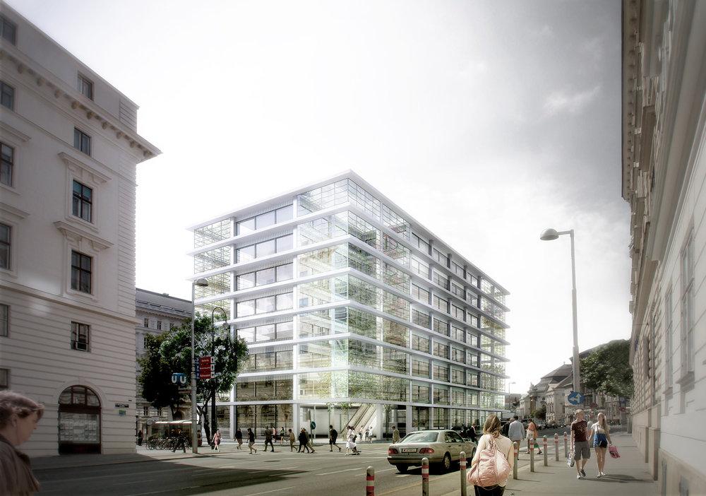 Offices | Jorge Perea | Vienna, Austria