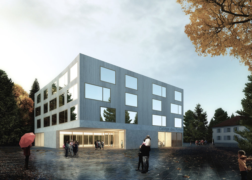 Fiches School Competition |  Mijaa Raummanufaktur  | Laussane, Switzerland