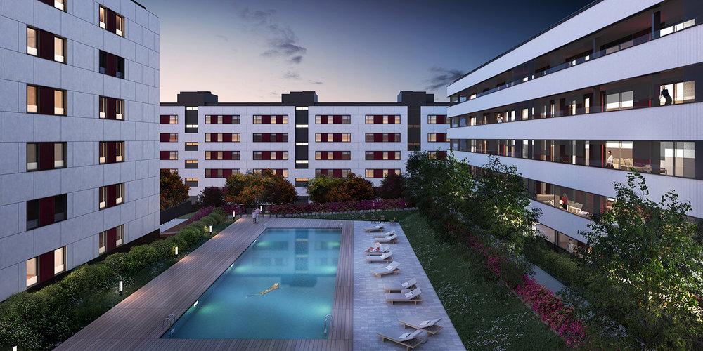 Mas Llui Residences |  GCT Arquitectes  | Sant Just Desvern, Spain