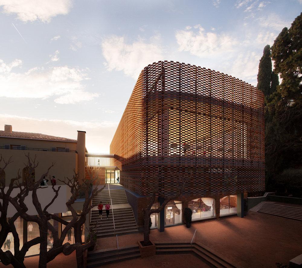 Tennis Club La Salut |  GCT Arquitectes  | Barcelona, Spain
