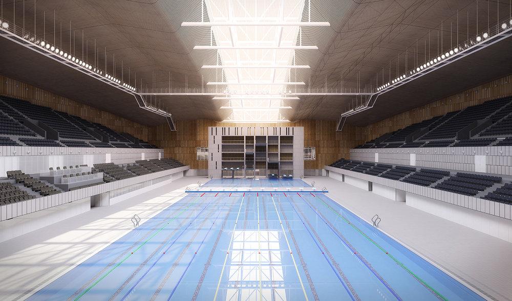 Baku Aquatic Centre |  Pujol Arquitectura | Baku, Azerbaijan