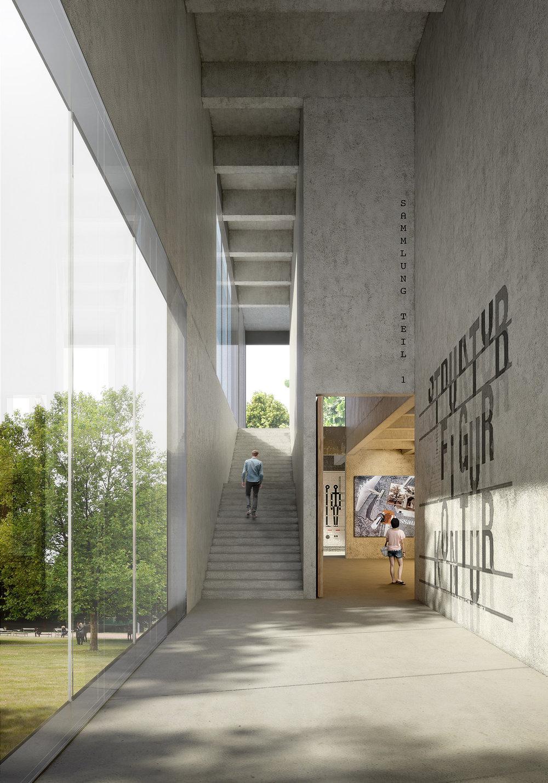 Bauhaus Museum Competition    Mijaa Raummanufaktur    Dessau, Germany