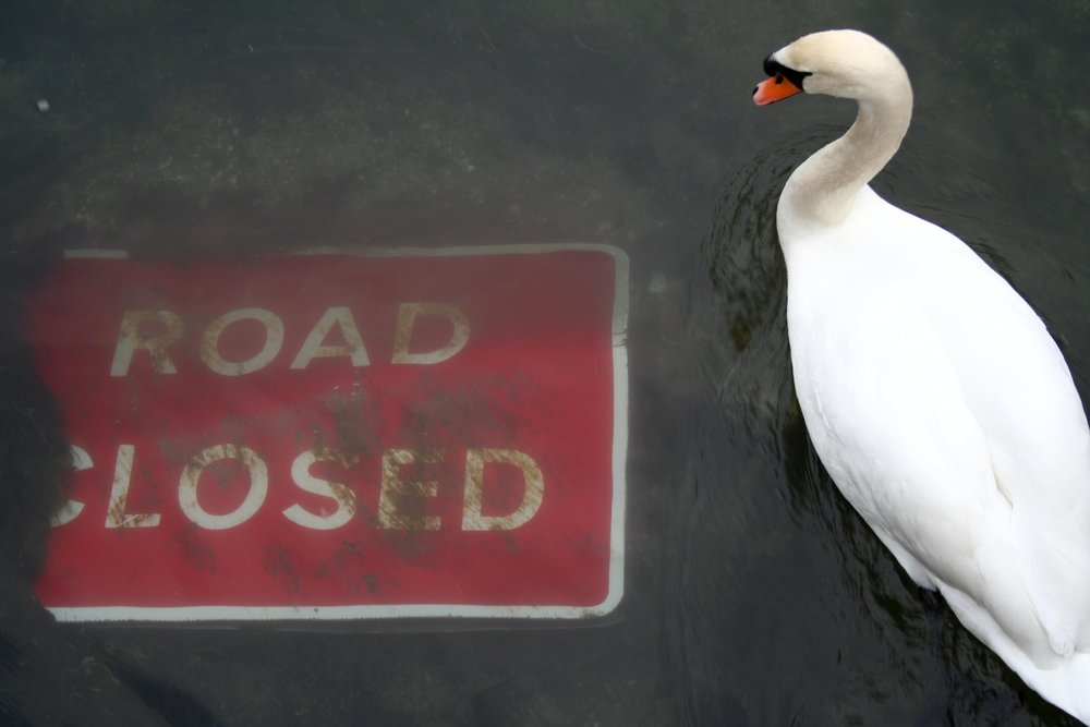 Road closed, by  Jonathan Parker-Jones on Flickr