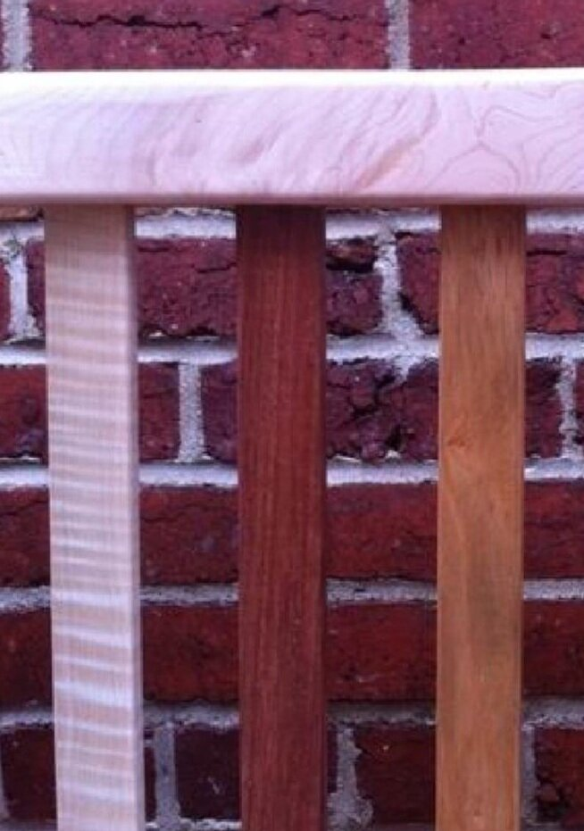 Hardwood Headboard