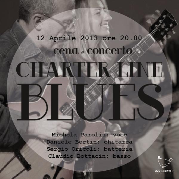 Locandina Charter Line - Blues
