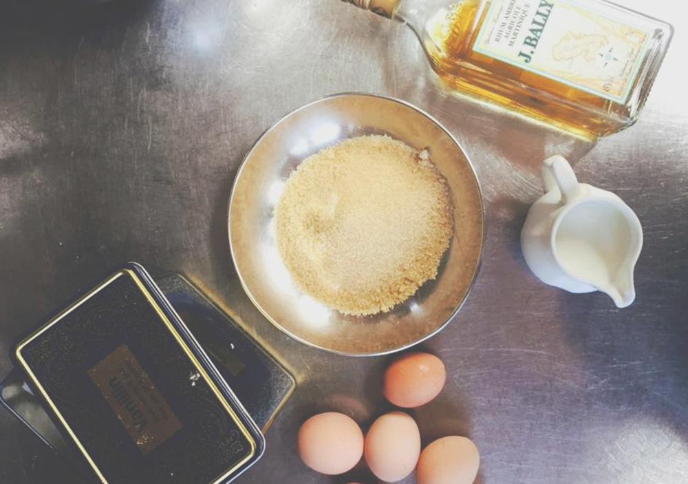 La preparazione, in questo caso zucchero di canna.