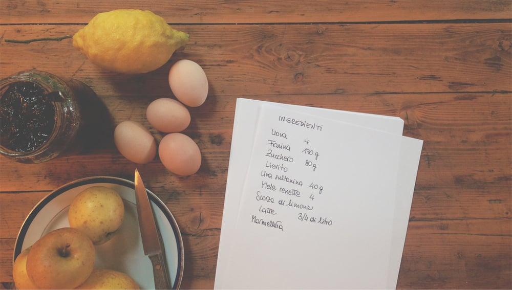 Un corso di cucina   PER IL TUO COMPLEANNO    Leggi come organizzare