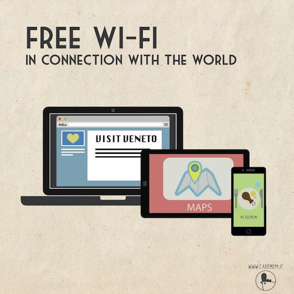 Free-Wi-Fi in Agriturismo