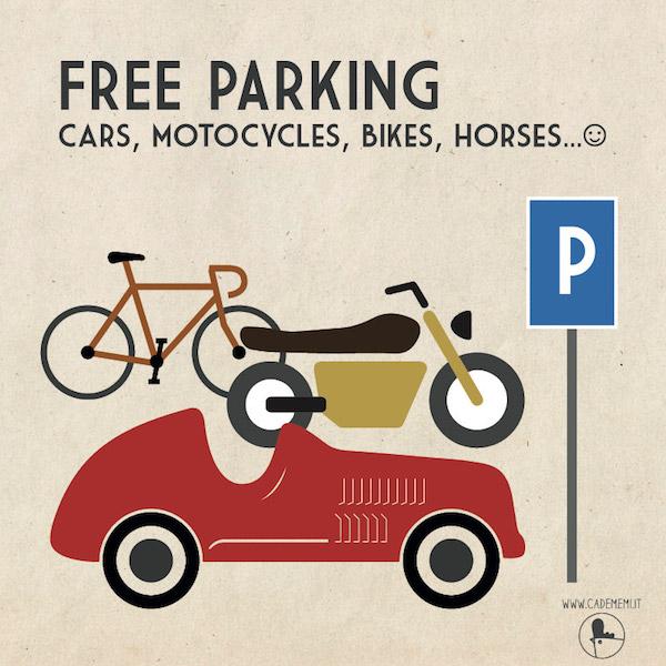 Free Parking Agriturismo Ca' de Memi