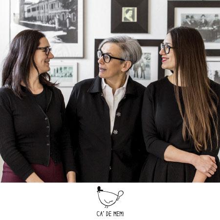 Giulia, Michela ed Elena