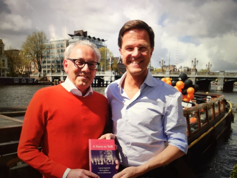Boekpresentatie 'A Story to tell?' - Koningsdag 2016