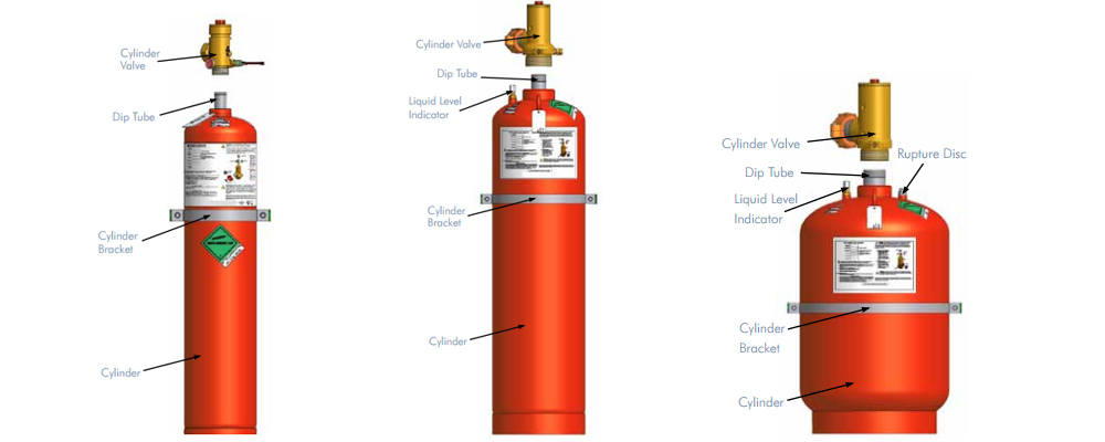 Fm200 Fire Suppression System For Fire Protection