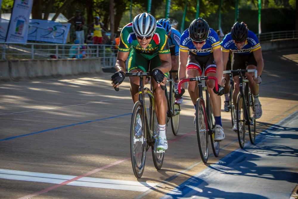Following four days of intense racing, William Newman, president of the Confederation of African Cycling's Track Commission, declared the event a huge success and hopes that the sport can grow throughout the continent © craigdutton.com