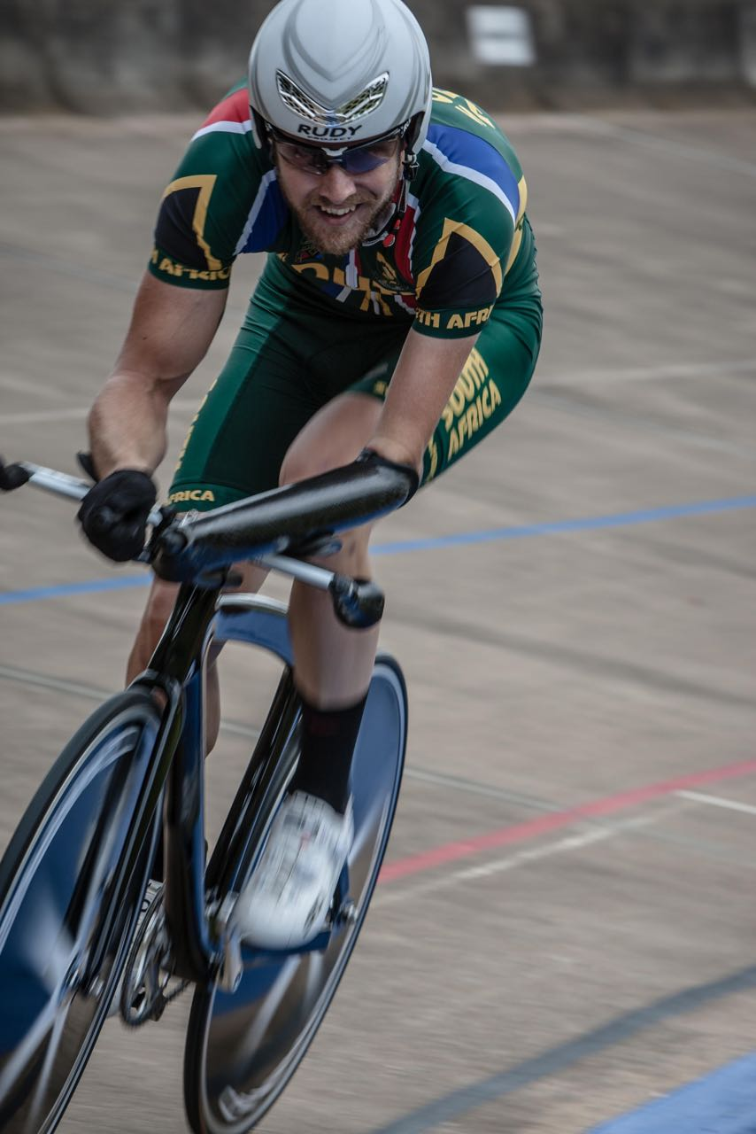 Following his sound performances at the African Continental Track Championships last month it was a fought opening Time Trial at the 2015 Pennypinchers South African Road, Time Trial and Para-cycling Championships Dane Wilson came in second to Craig Ridgard but was happy with his race on Tuesday. Photo: craigdutton.com