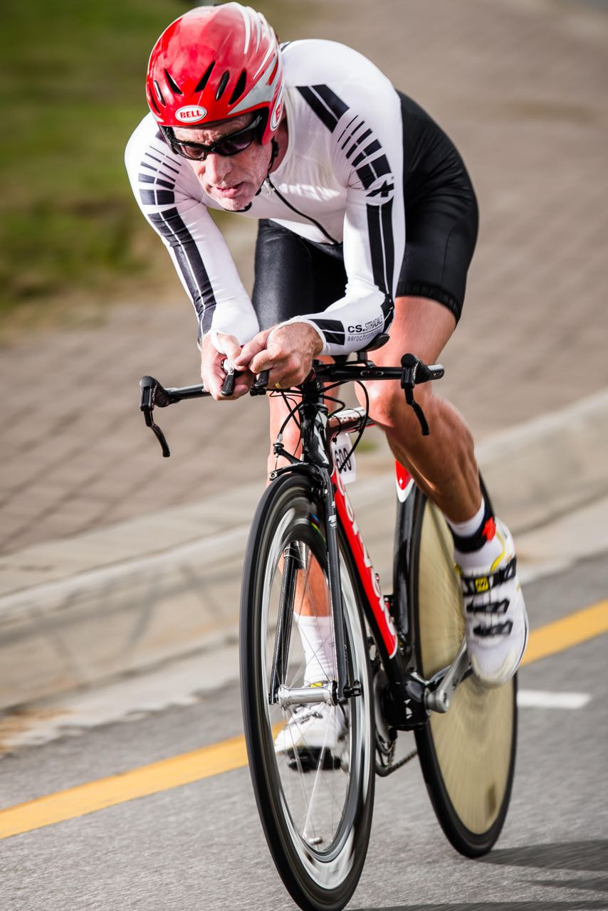 Regular veteran rider Paul Furbank produced another stand-out performance in the Veteran Men's 60-64 Time Trial to claim the national title on day two of the 2015 Pennypinchers South African Road, Time Trial and Para-cycling Championships. Photo: craigdutton.com.