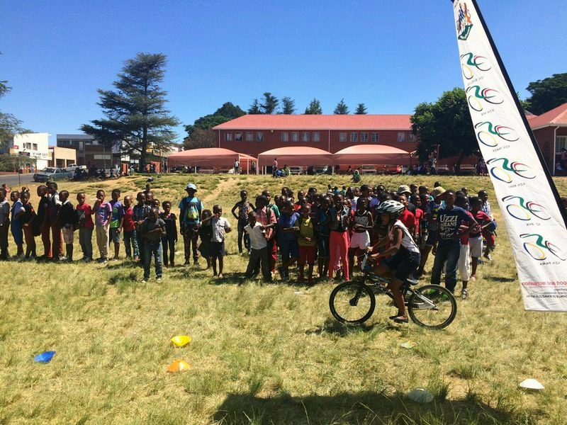 Children from the Umzinyathi District who competed in Dundee on Wednesday 19 February. Photo: Supplied