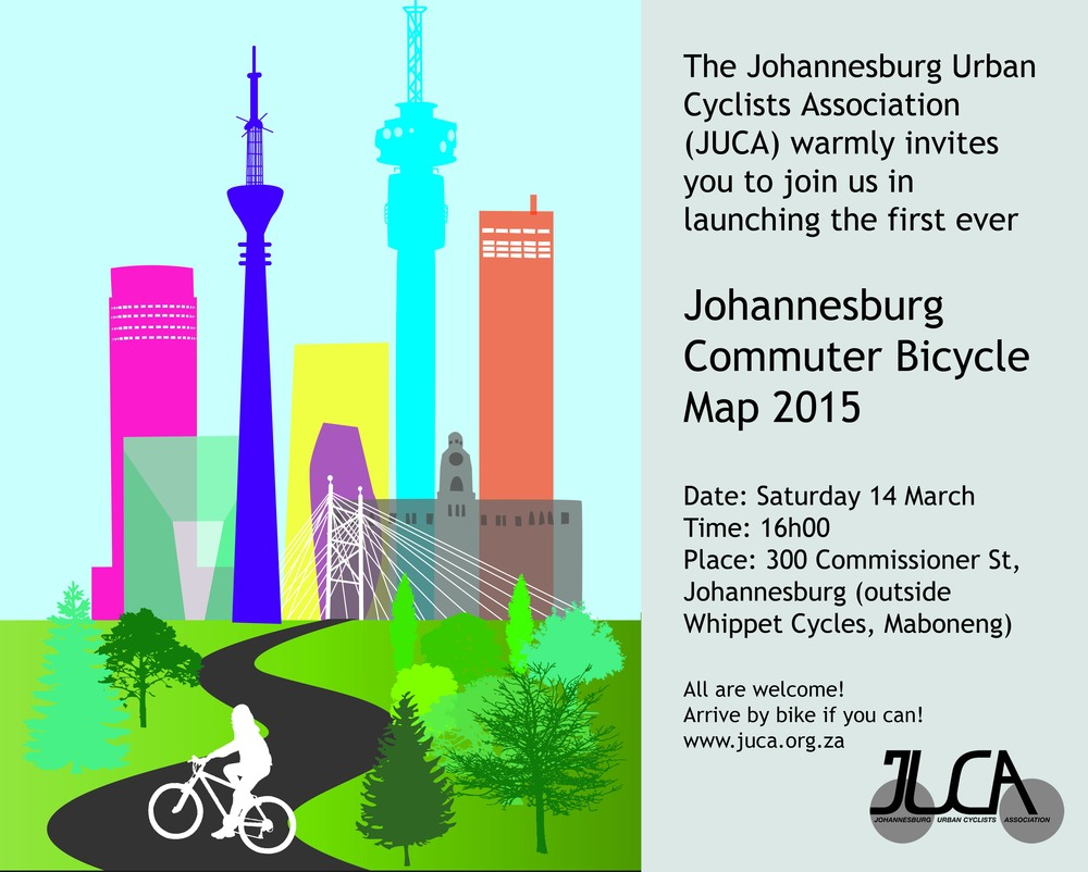 Photo: Map Launch Invitation