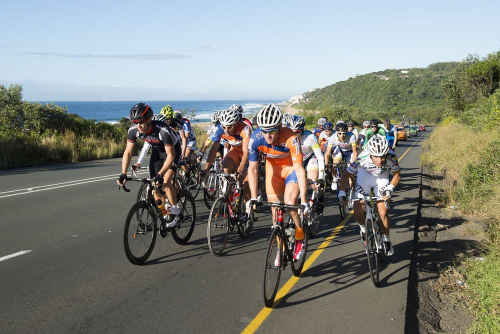 The aQuellé Tour Durban presented by Sunday Tribune will kick start an eight day window in which four top class road races will be held in KwaZulu-Natal. Anthony Grote/ Gameplan Media