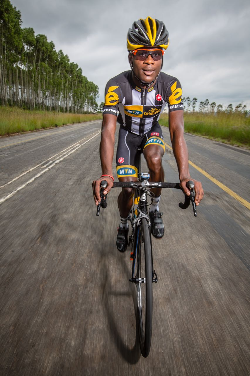 Nicholas Dlamini (RSA), part of the 2015 MTN-Qhubeka WCCA Feeder Team, has achieved a string of successes in the early part of the season.  © craigdutton.com