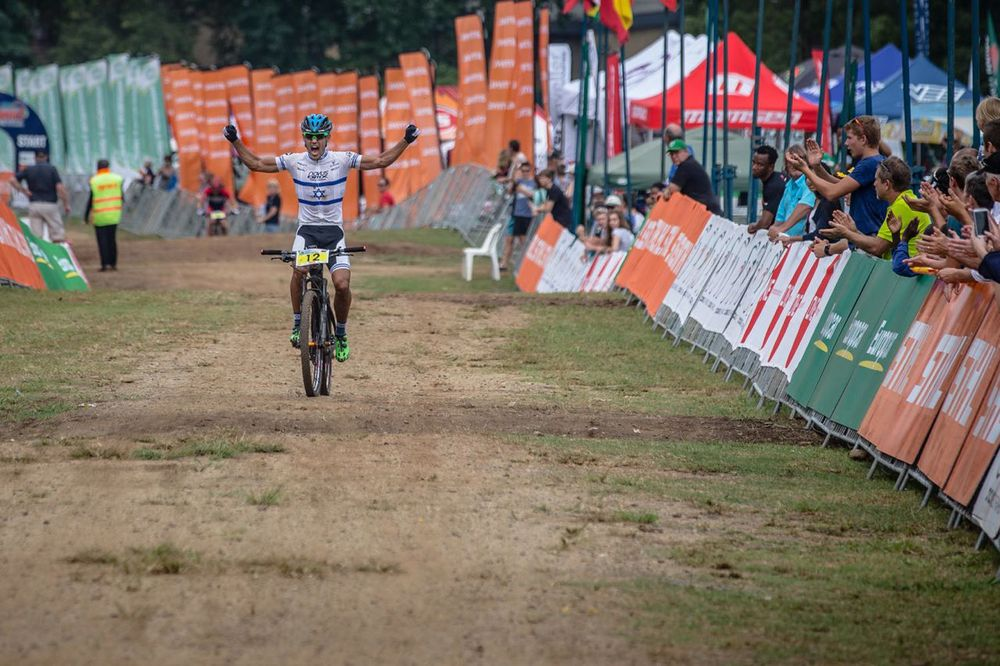 Israel's Shlomi Haimy paced his race to perfection and made no major mistakes to claim overall victory in the elite mens HC XCO race at the Pietermaritzburg MTB Festival at the Cascades MTB Park on Saturday. © craigdutton.com