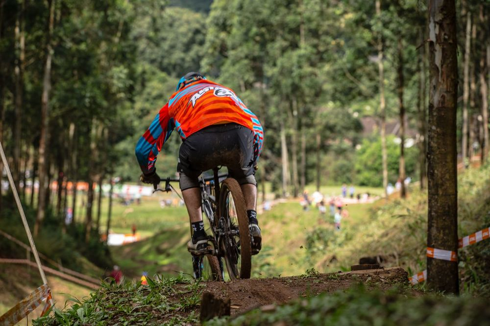 Veteran Men's rider Grant Dekker is taking part in round three of the 2015 Stihl SA MTB Cup Series (XCO and DHI) at Manekele Bike Park, Mpumalanga on Sunday 26th April ©craigdutton.com.