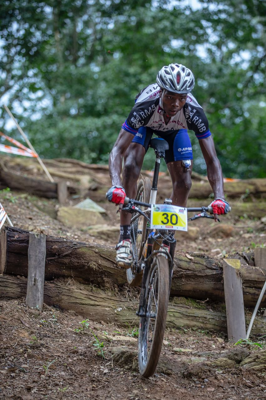 Sithebiso Masango (RMB Change a Life MTB Academy) in action at the PMB MTB Festival earlier this year - the same venue that will host the fourth round of the Stihl 2015  SA MTB Cup Series on 27th and 28th June. ©craigdutton.com.