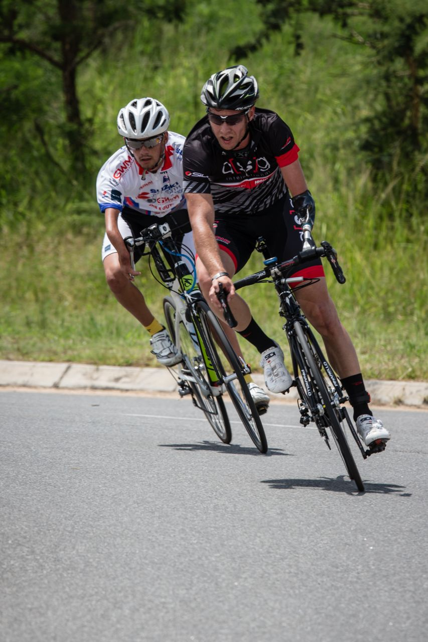 Dane Wilson (front) relishes the opportunity to compete in the 2015 UCI Para-cycling Road World Cup Pietermaritzburg, South Africa, on home soil from 11-13 September Photo: ©     craigdutton.com