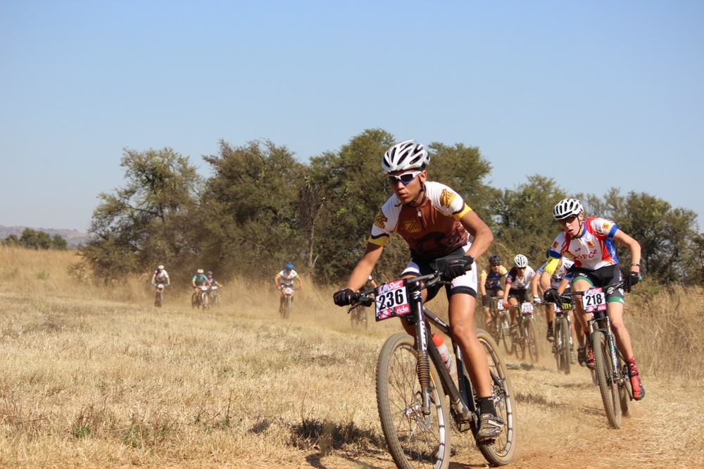 Learners, aged between 14 and 18 years of age, raced against each other in their respective age groups for a chance to claim the medals on offer at the Spur Tour de Plot, part of the Gauteng Spur High School MTB Series presented by Anatomic at Curro College,  Hazeldean on Saturday 16 May 2015. Photo: Sinead Wannenburg
