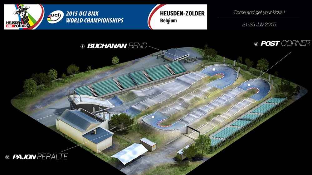 Photo: Heusden-Zolder track © ProTracks/Heusden-Zolder