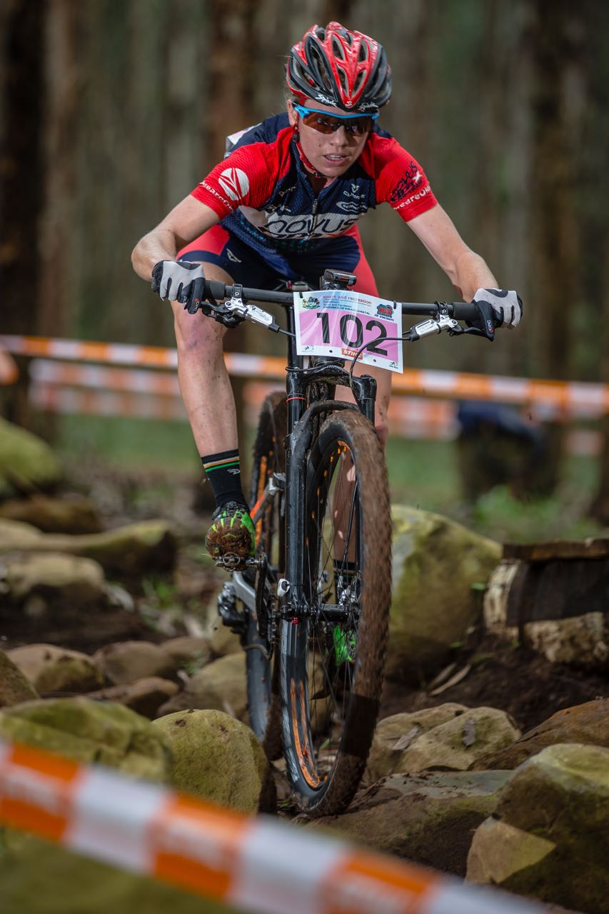 Cherie Vale (Novus OMX Pro Team) will be riding the Czech track for her second year at the 2015 UCI Mountain Bike World Cup (XCO) presented by Shimano, taking place this weekend in Nove Mesto na Morave (Czech Republic) on 23 and 24 May 2015 © craigdutton.com