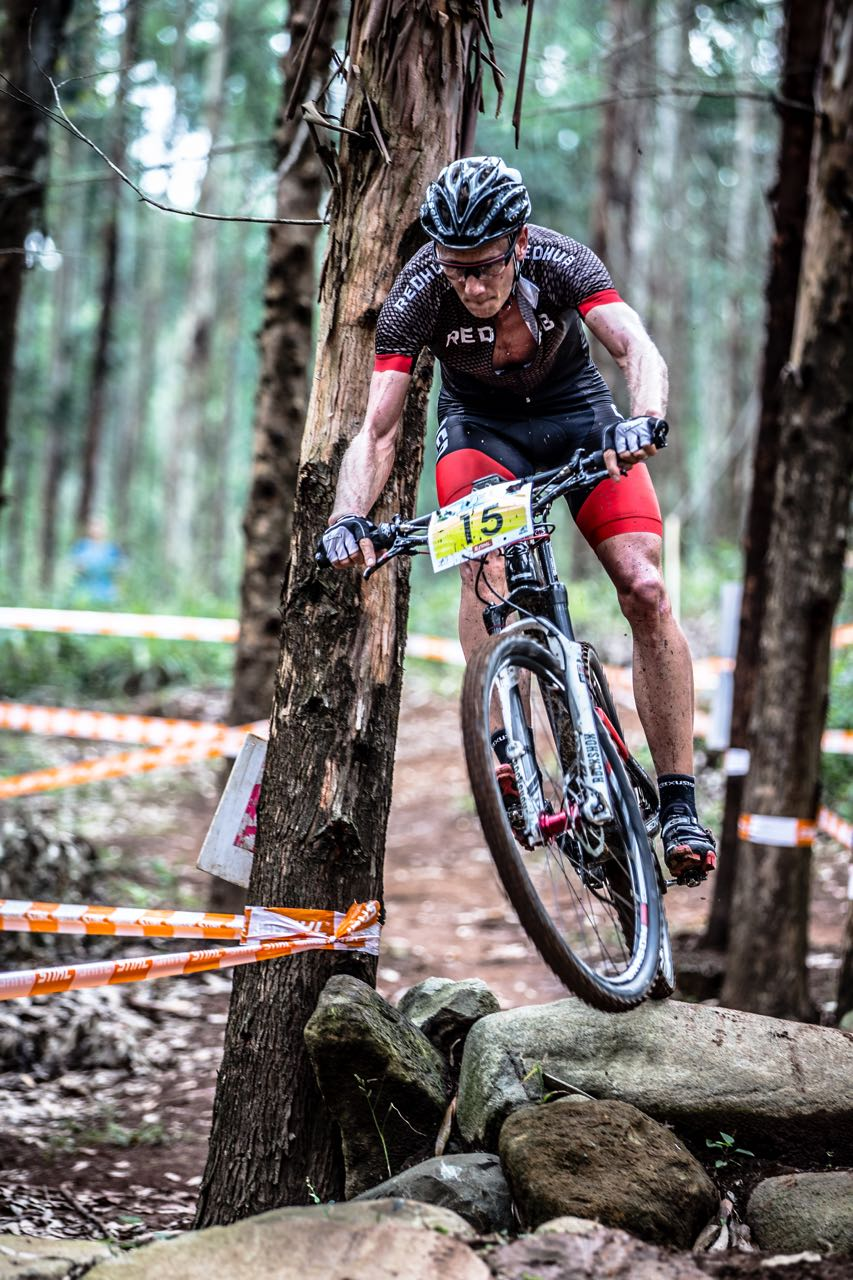 Jan Whitaar is happy to have landed in Europe and is excited for the 2015 UCI Mountain Bike World Cup (XCO) presented by Shimano, taking place this weekend in Nove Mesto na Morave (Czech Republic) on 23 and 24 May 2015 © craigdutton.com