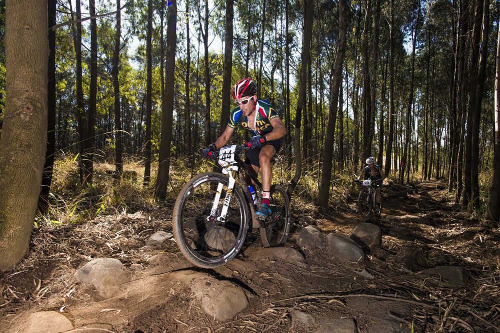 With four South African Marathon MTB titles to his name Biogen-Volcan star Kevin Evans has not set his sights fully on claiming his fifth title at the Ashburton Investments National MTB Series Van Gaalen, which doubles up as the 2015 South African Mountain Bike Marathon Championships powered by Stihl on 6 June Dave Macleod/Gameplan Media
