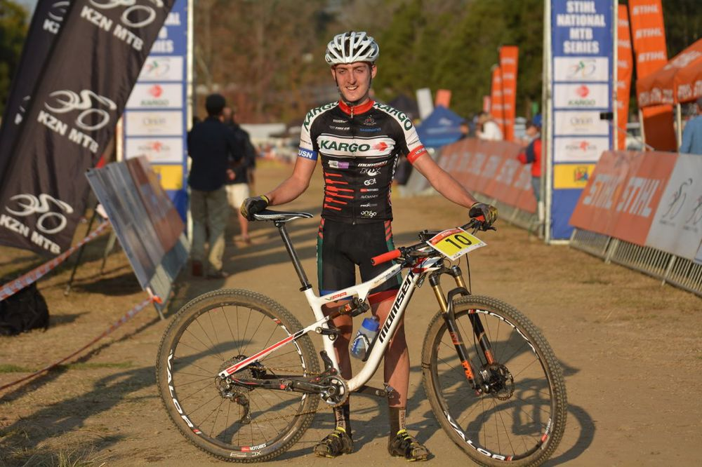 Alan Hatherly (Kargo Pro MTB Team) whose results after four rounds placed him at the top of the Elite Men's XCO log in the 2015 Stihl SA MTB Cup Series. Gavin Ryan/QuickPix Photography
