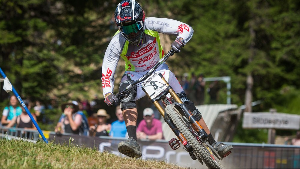 Santa Cruz Syndicate rider, Greg Minnaar, made South Africa proud when he claimed his 18th UCI MTB DHI World Cup victory in Lenzerheide, Switzerland on Saturday 3 July.   Photo credit:    uci.ch