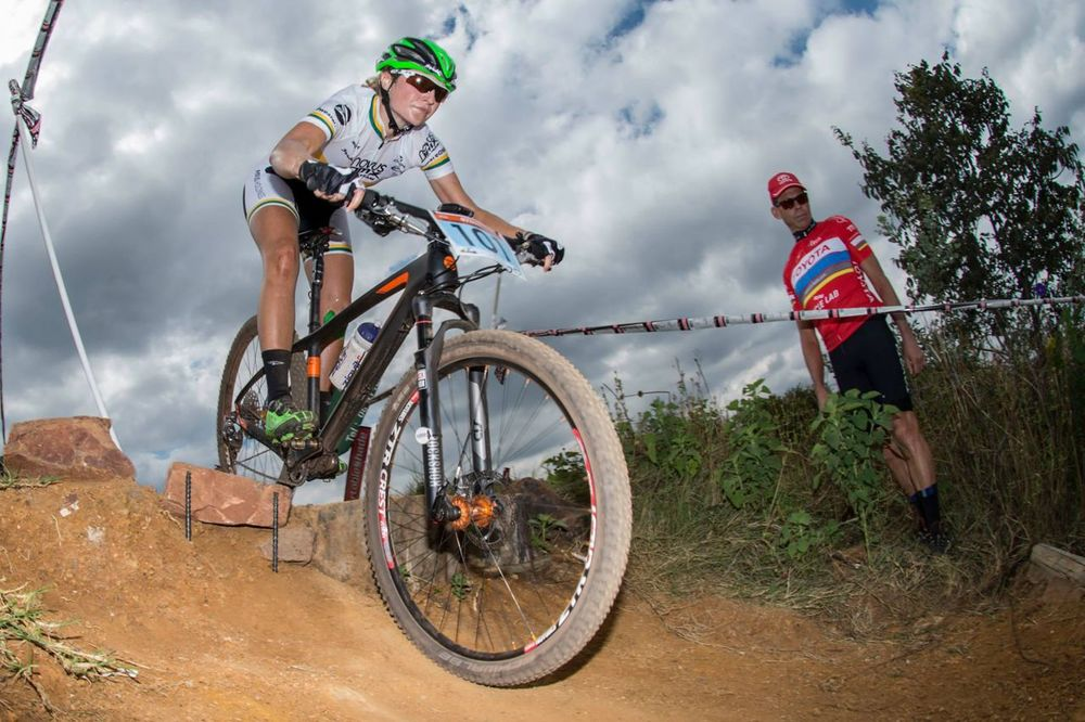 With a hometown cross country national championship coming up defending champion Mariske Strauss is in a race against time to be fit enought to compete at the 2015 Stihl South African Mountain Bike Championships presented by Subaru Cape Town/Novus Holdings. Andrew McFadden/Gameplan Media