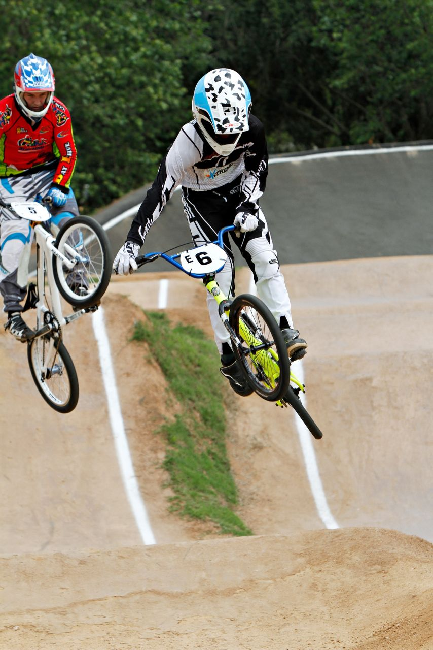 BMX rising star, Alex Limberg (Sponsored by JT Racing and Dragon Alliance Eye Gear) claimed his first overall win at the fourth, fifth and sixth rounds of the 2015 SA BMX National Age Group Series from 4-5 July. Photo: Kevin Bender