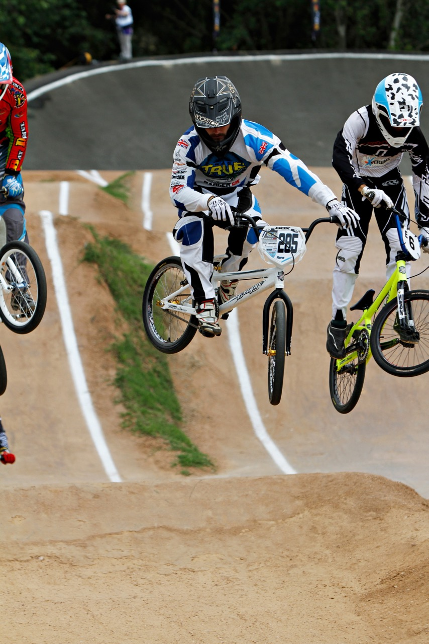 Kane Herbert (Alrode BMX Club Gauteng) is confident with the amount of training and preparation ahead  of the 2015 UCI BMX World Championships in Heusden-Zolder, Belgium, from 21-25 July. Photo: Kevin Bender