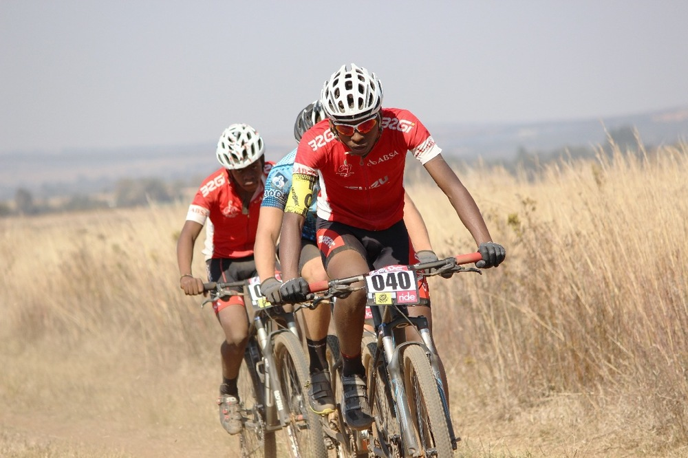 Diepsloot Academy riders in action. Photo: supplied